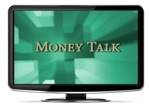 Money Talk - title on tv